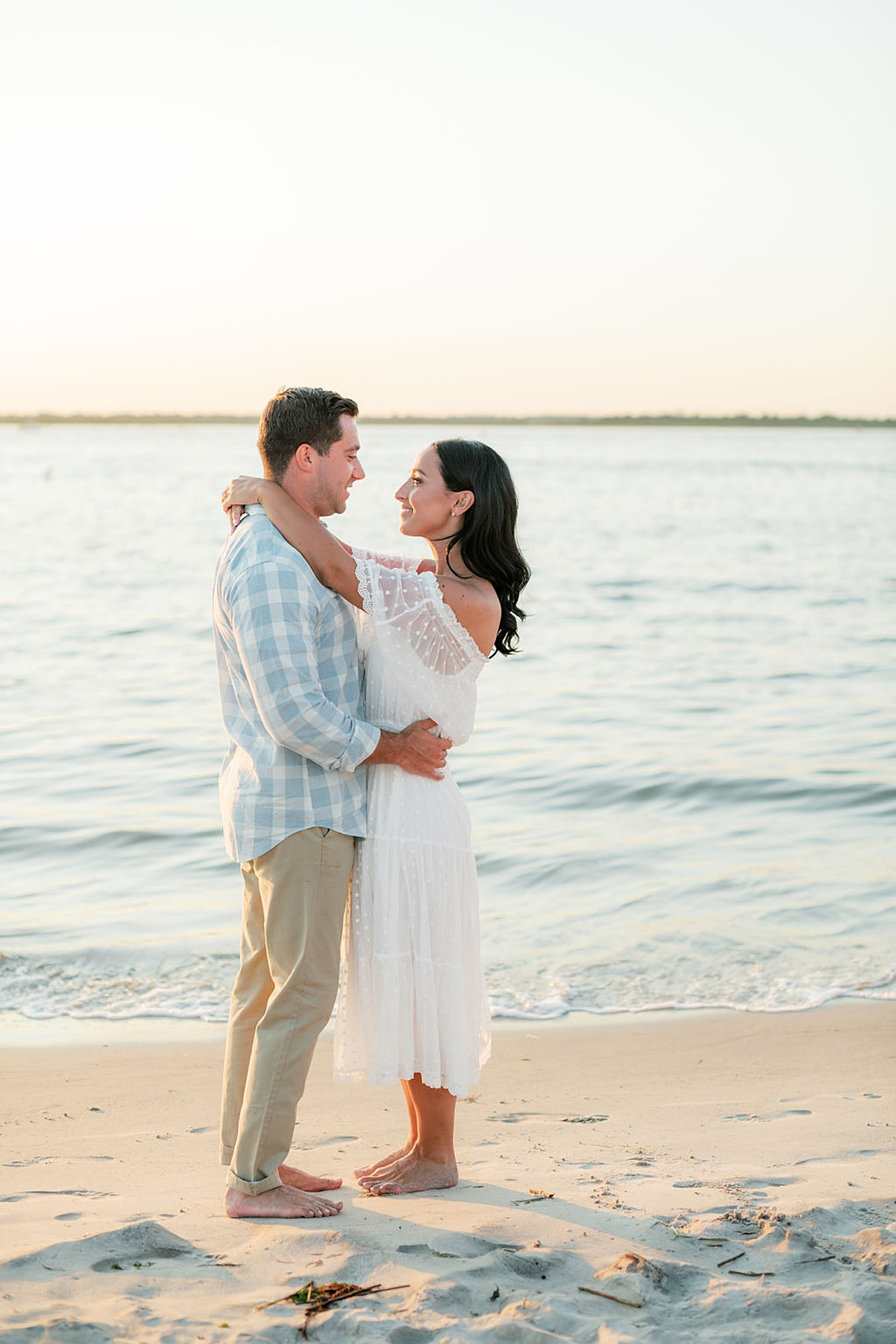 Airy and Bright Engagement Photography in Ocean City NJ by Magdalena Studios 0034