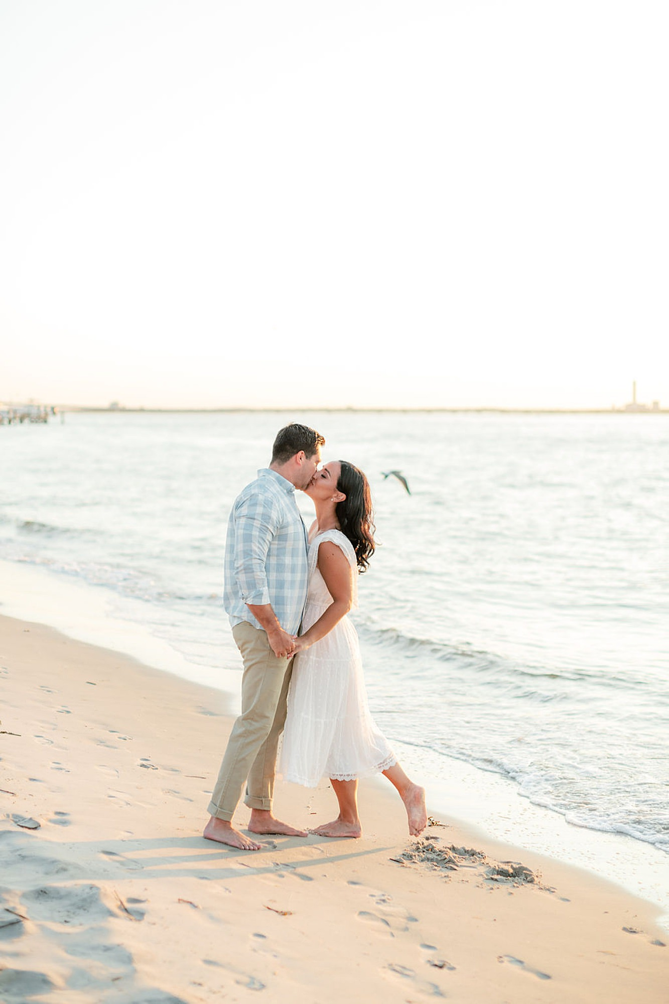 Airy and Bright Engagement Photography in Ocean City NJ by Magdalena Studios 0038