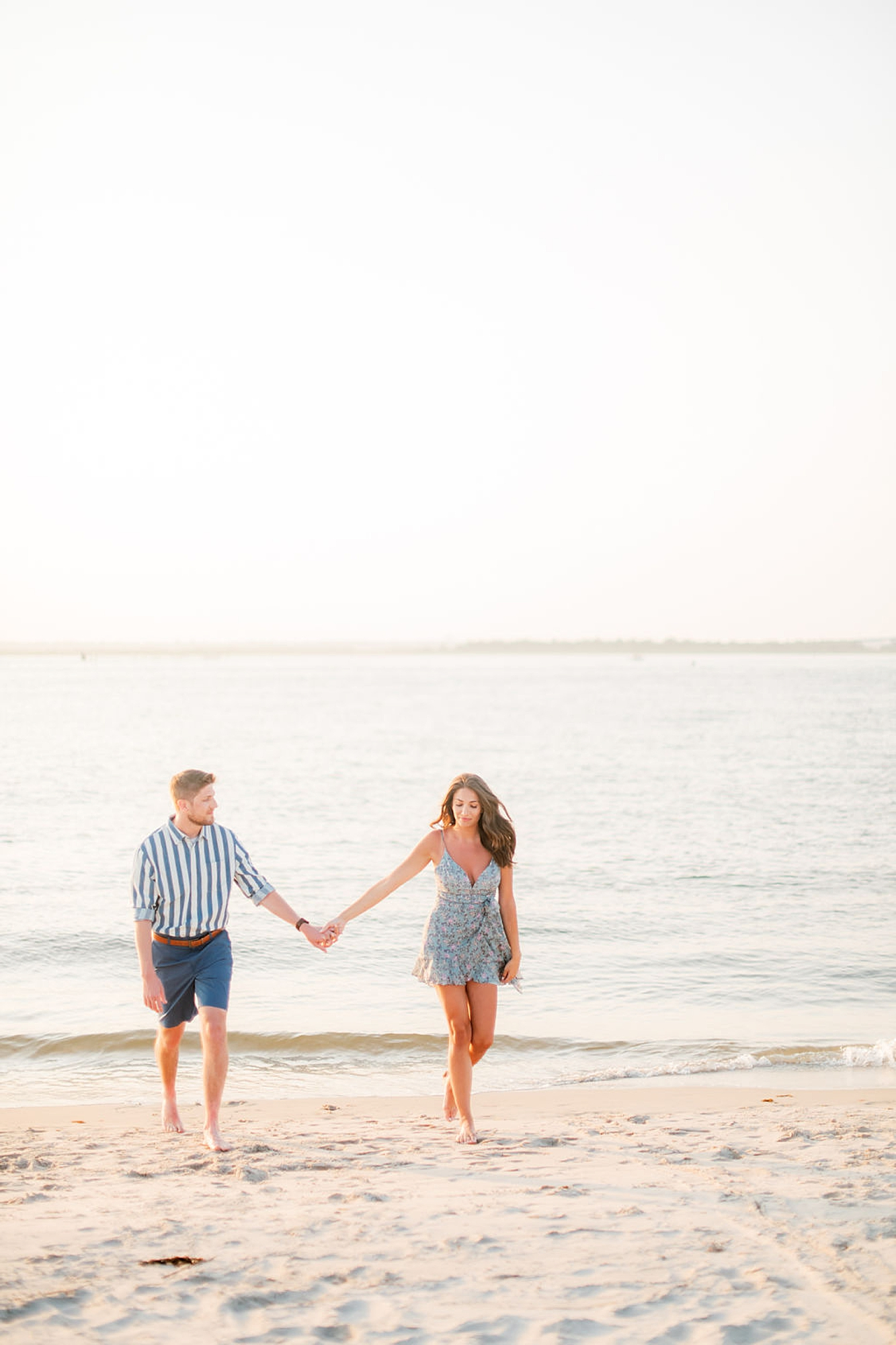 Bright and Fun Engagement Photography in Ocean City NJ by Magdalena Studios 0012