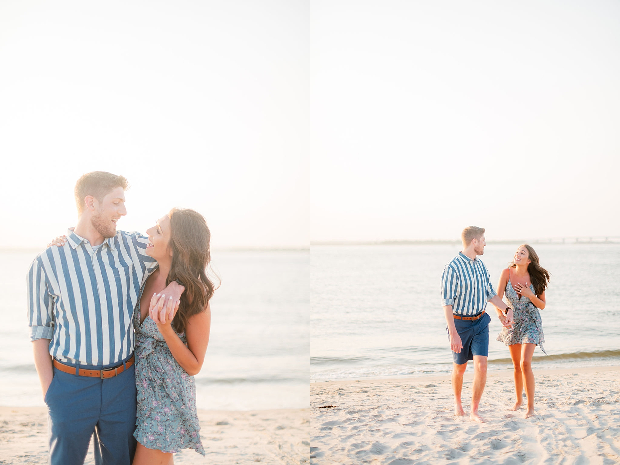 Bright and Fun Engagement Photography in Ocean City NJ by Magdalena Studios 0013