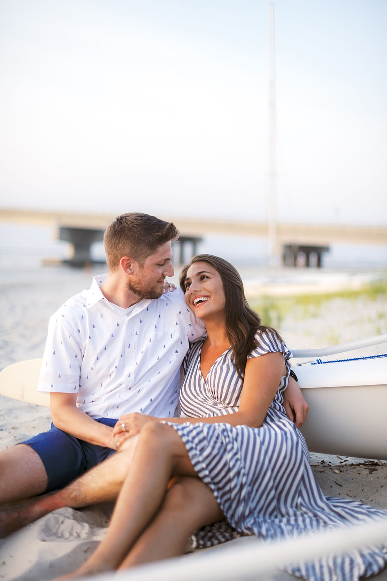 Bright and Fun Engagement Photography in Ocean City NJ by Magdalena Studios 0036