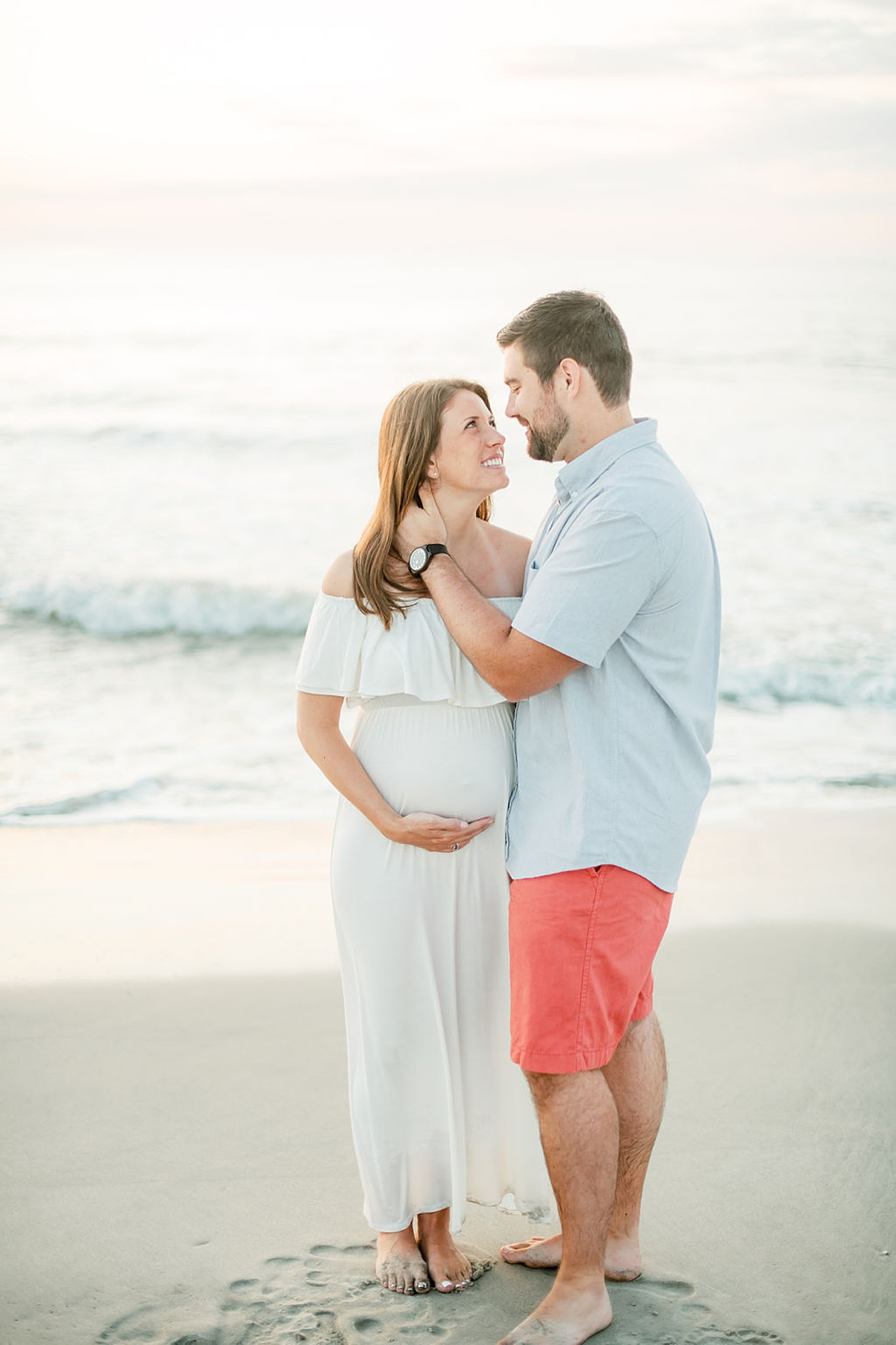 Glowy and Romantic Maternity Photography in Ocean City NJ by Magdalena Studios 0010