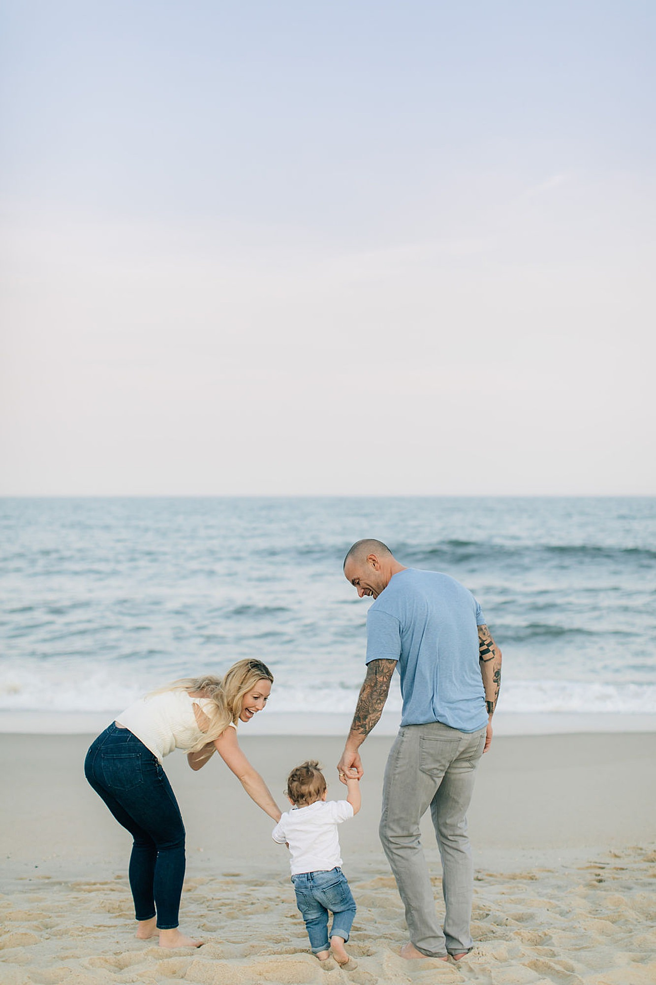 Long Branch NJ Film Family Portrait Photography by Magdalena Studios 0009