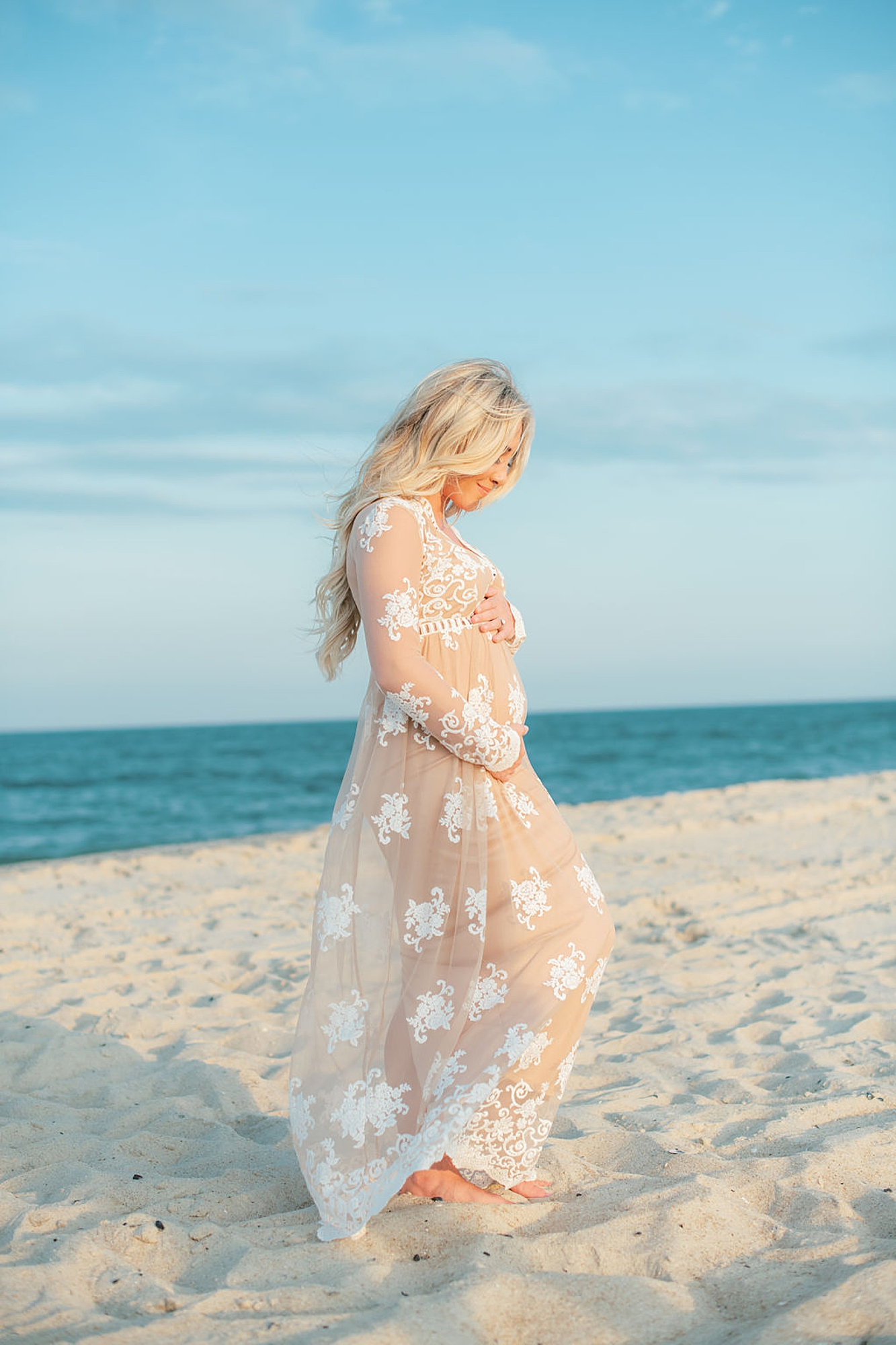 Natural and Fun Maternity Photography in Ocean City NJ by Magdalena Studios 0004