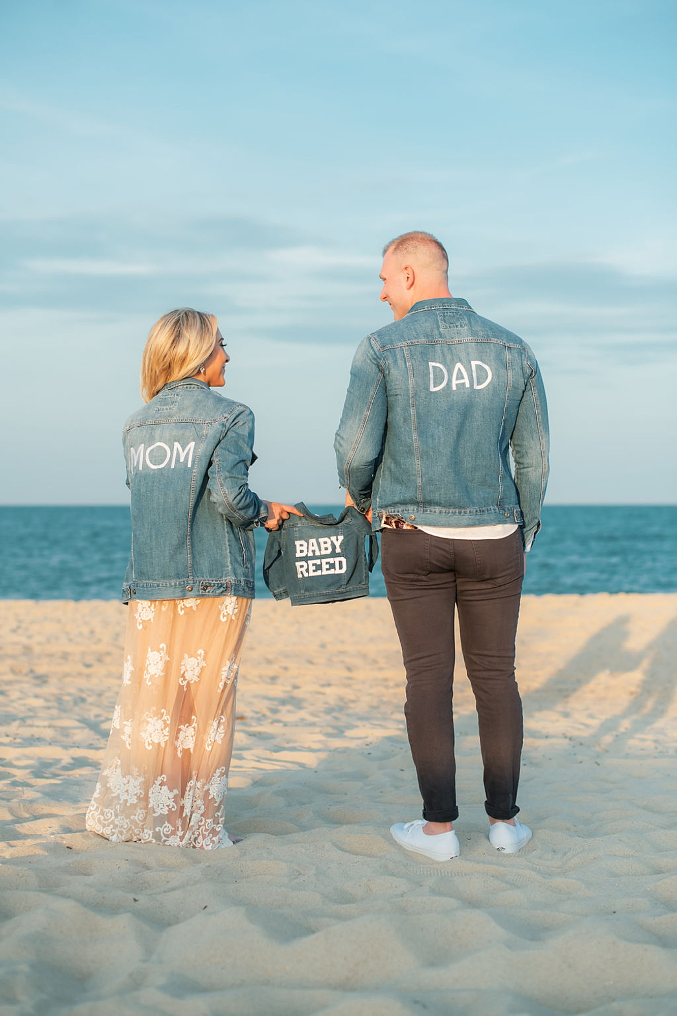 Coastal Pregnancy Announcement In Spring Lake Nj