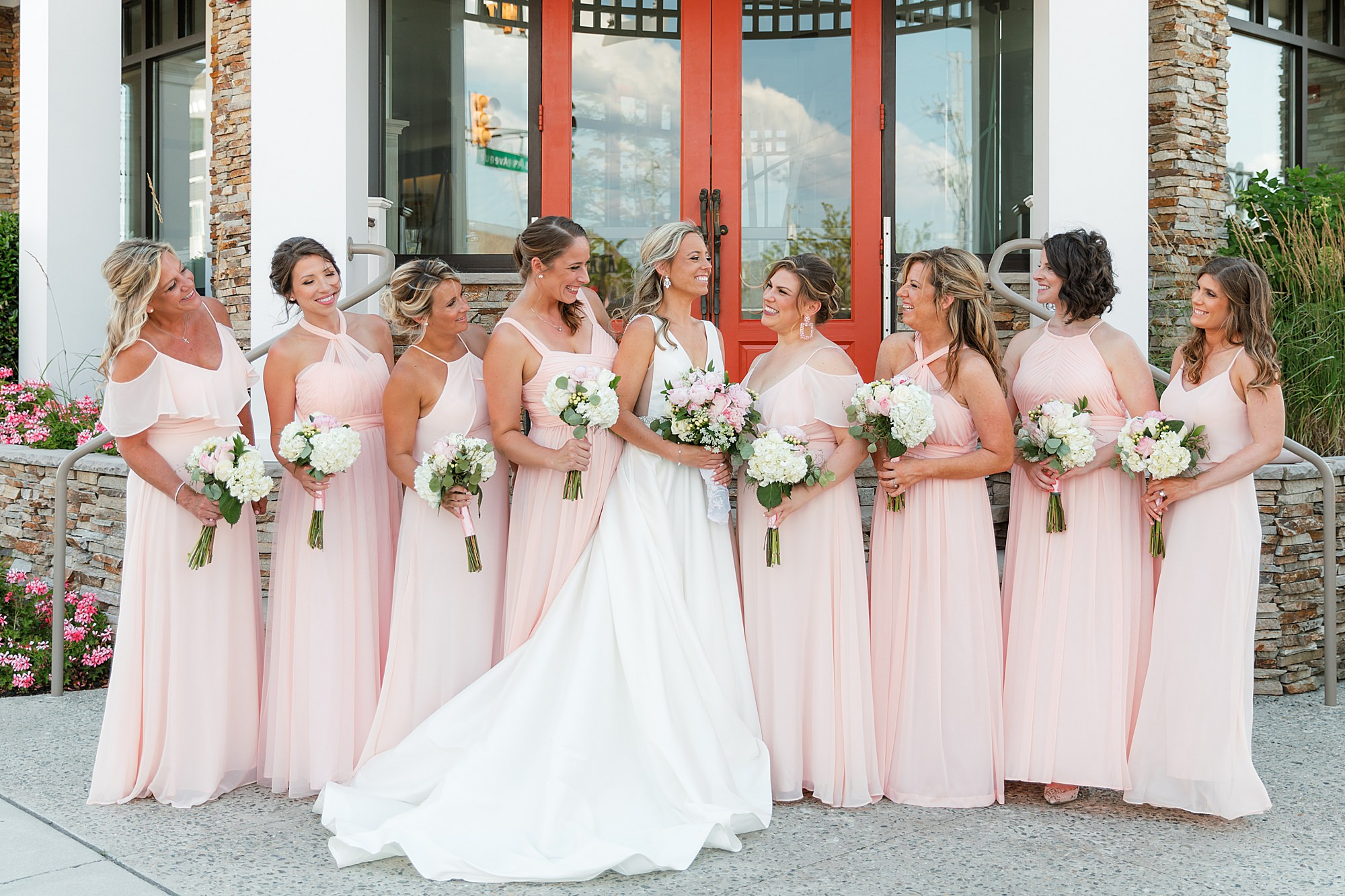 Natural and Vibrant Wedding Photography at the Reeds in Stone Harbor NJ by Magdalena Studios 0030