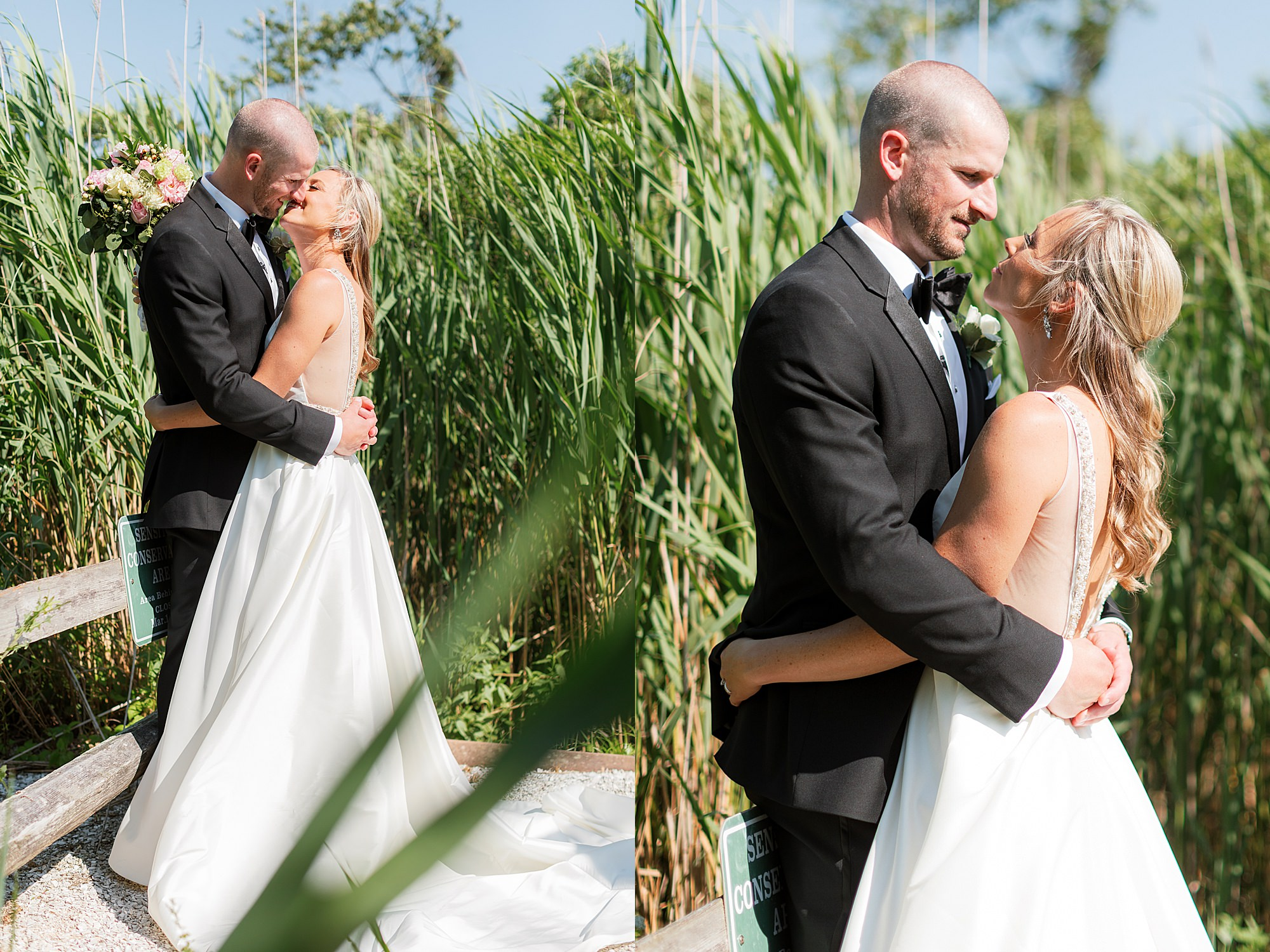 Natural and Vibrant Wedding Photography at the Reeds in Stone Harbor NJ by Magdalena Studios 0042