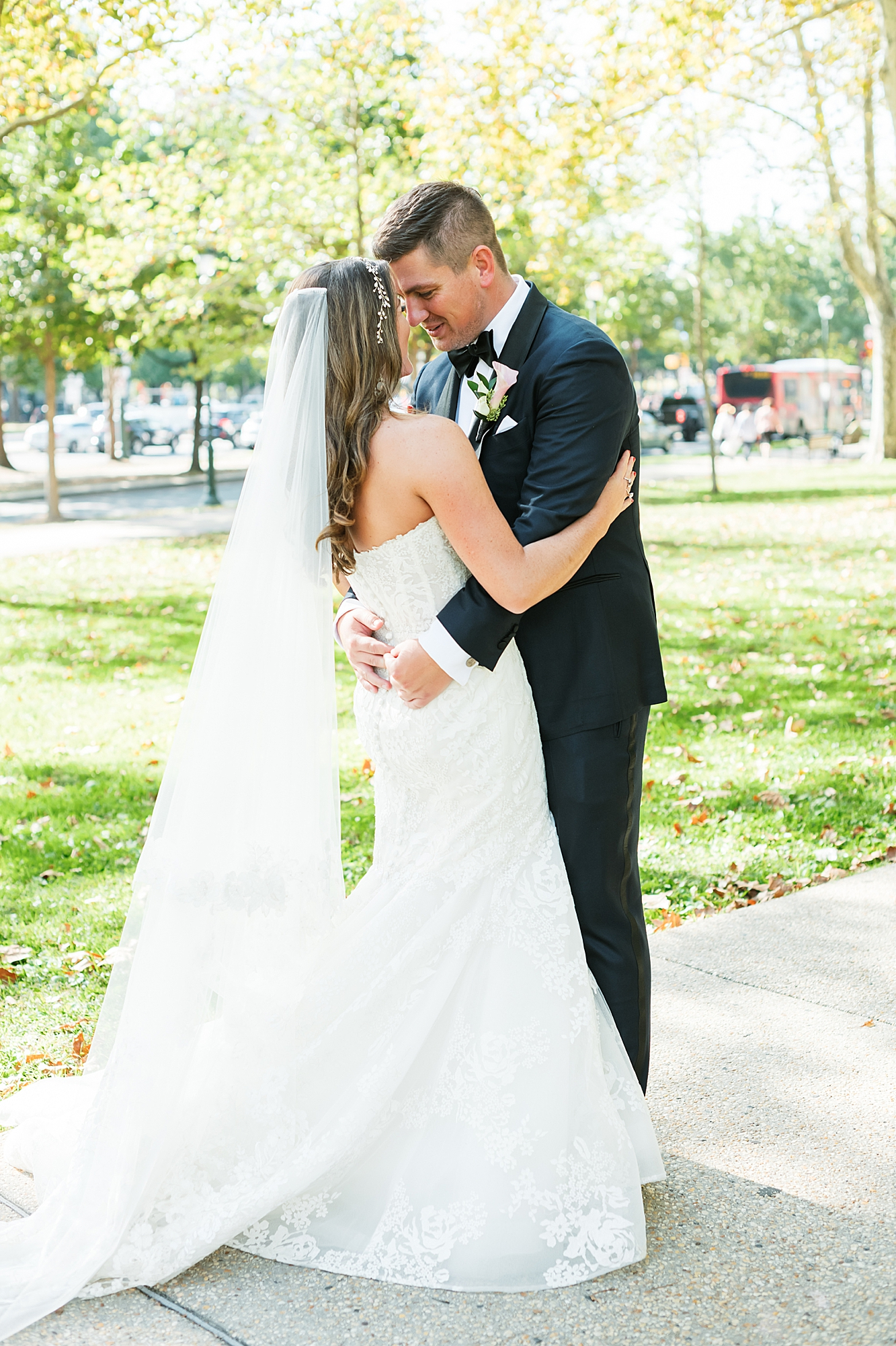 Free Library of Philadelphia Wedding Photography by Magdalena Studios 0026