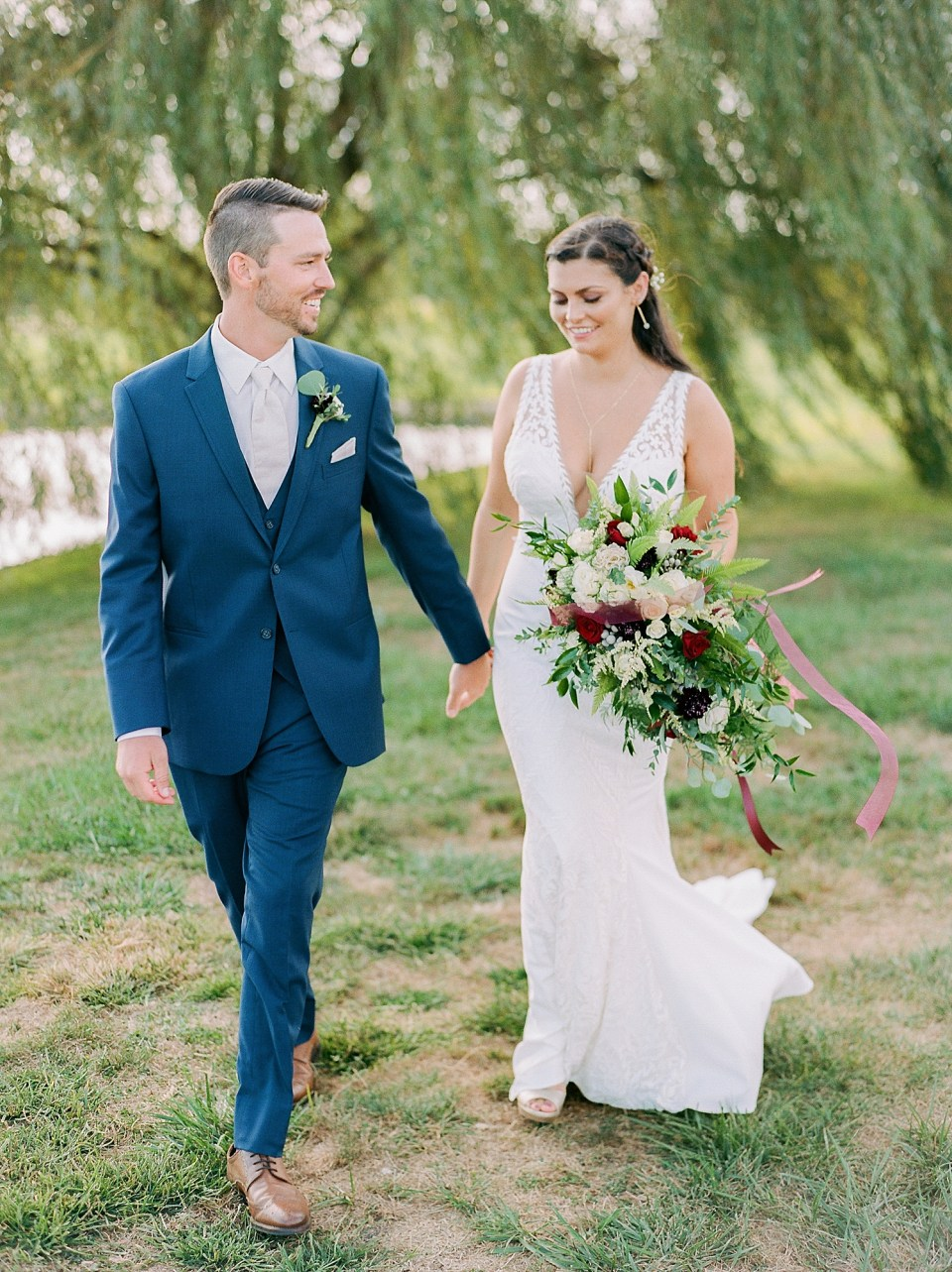 Linwood Country Club Film Wedding Photography by Magdalena Studios South Jersey Wedding Photographer 12
