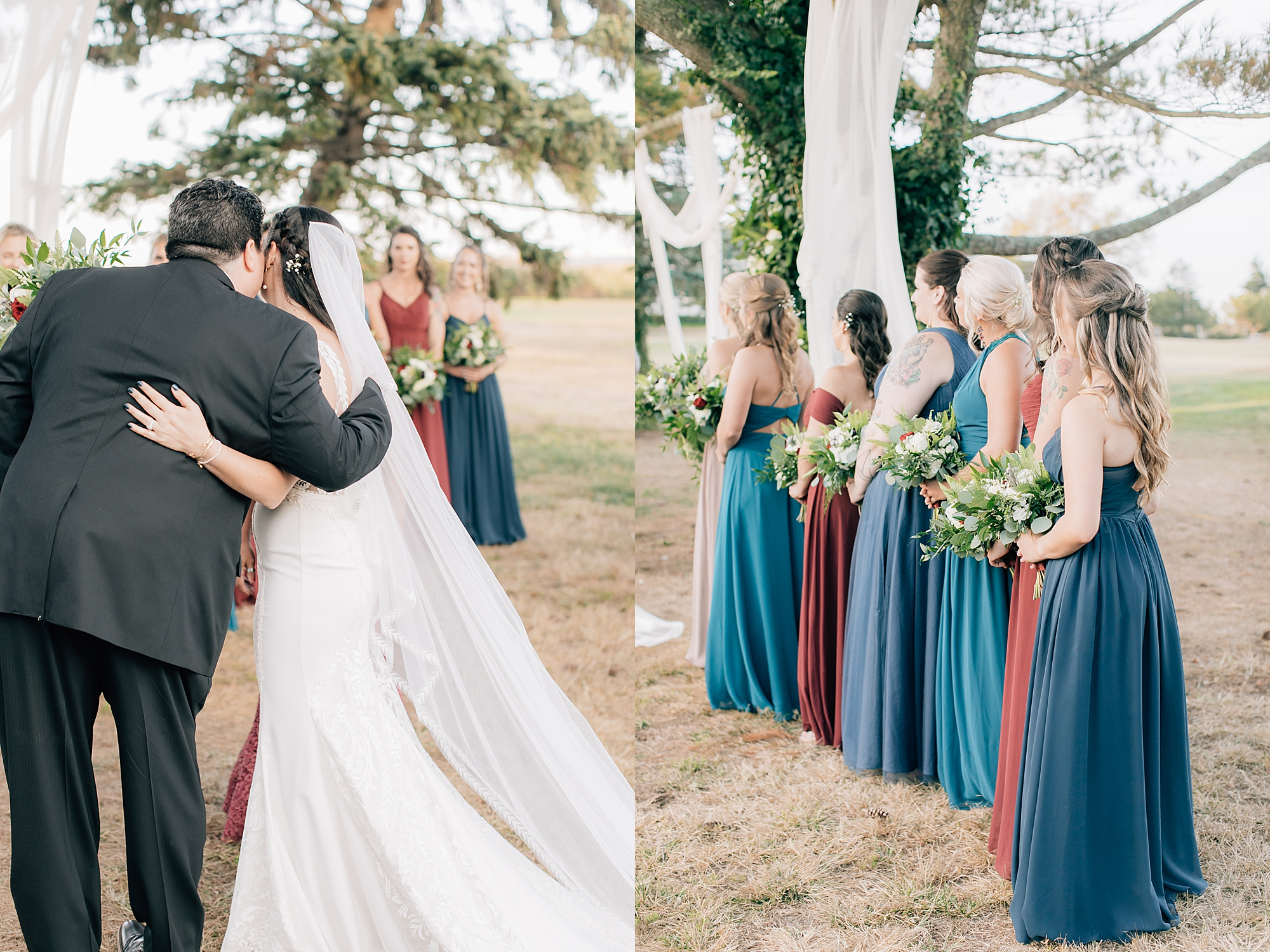 Linwood Country Club Film Wedding Photography by Magdalena Studios South Jersey Wedding Photographer 18