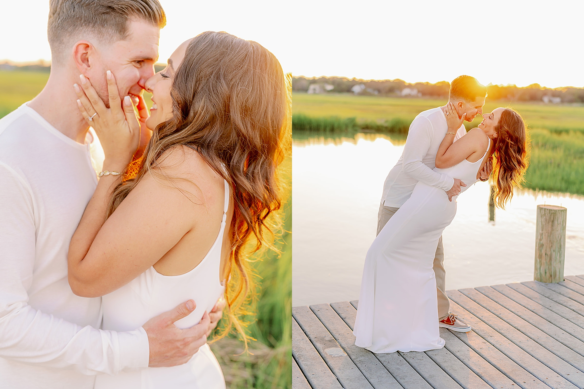 Ocean City New Jersey Engagement Photography with puppy by Magdalena Studios 0019