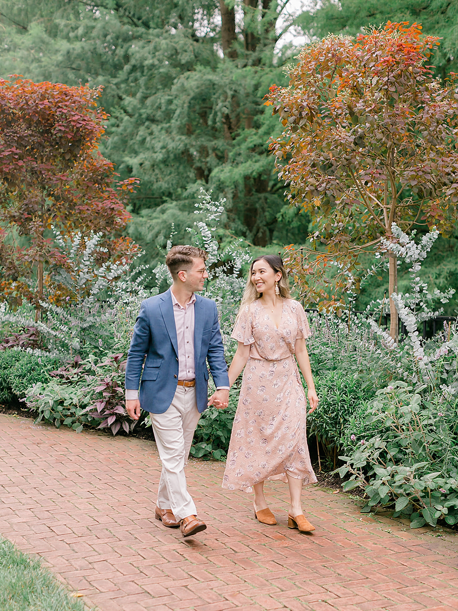 Longwood Gardens Surprise Proposal Engagement Photography by Magdalena Studios 0008