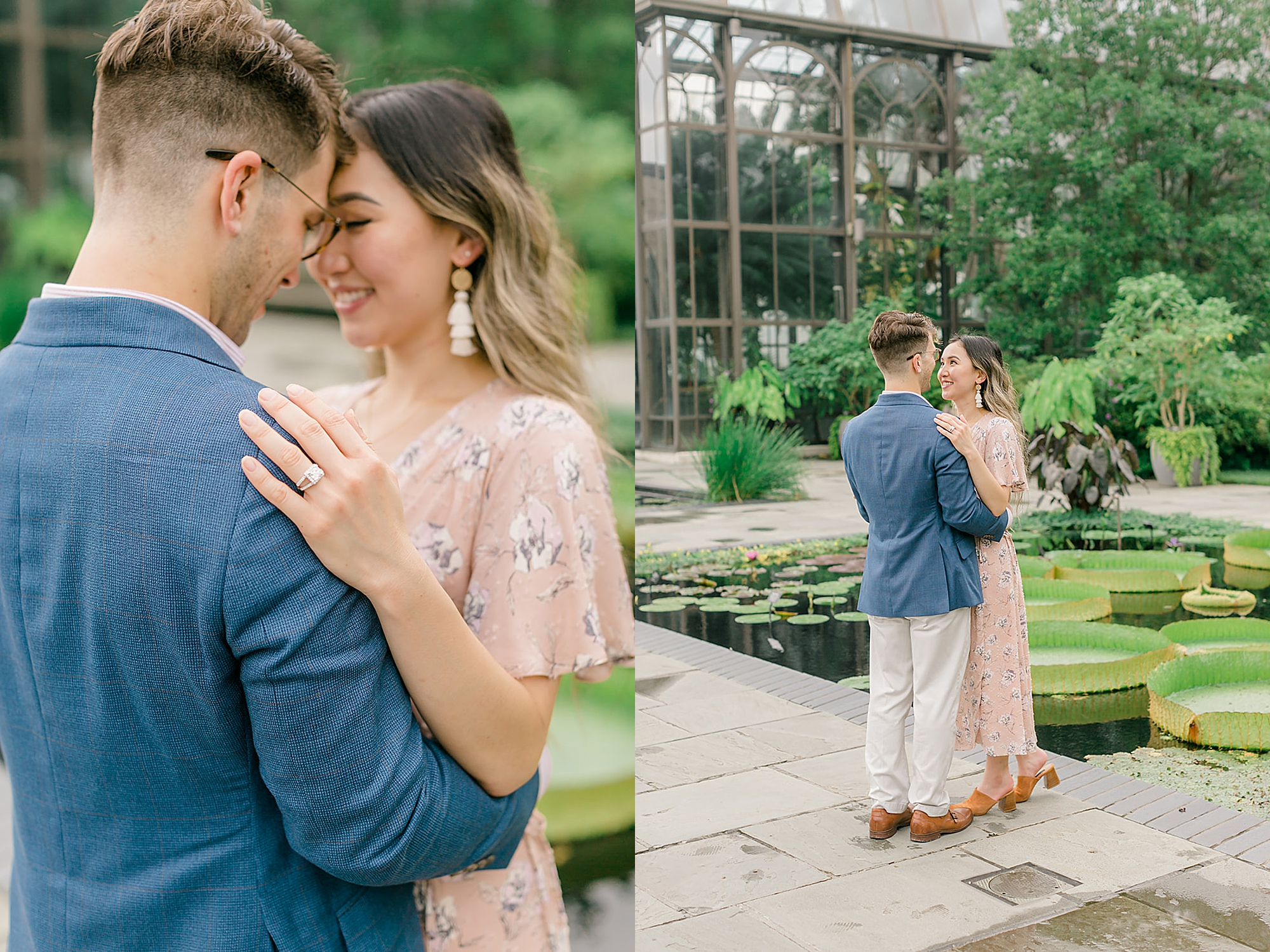 Longwood Gardens Surprise Proposal Engagement Photography by Magdalena Studios 0022