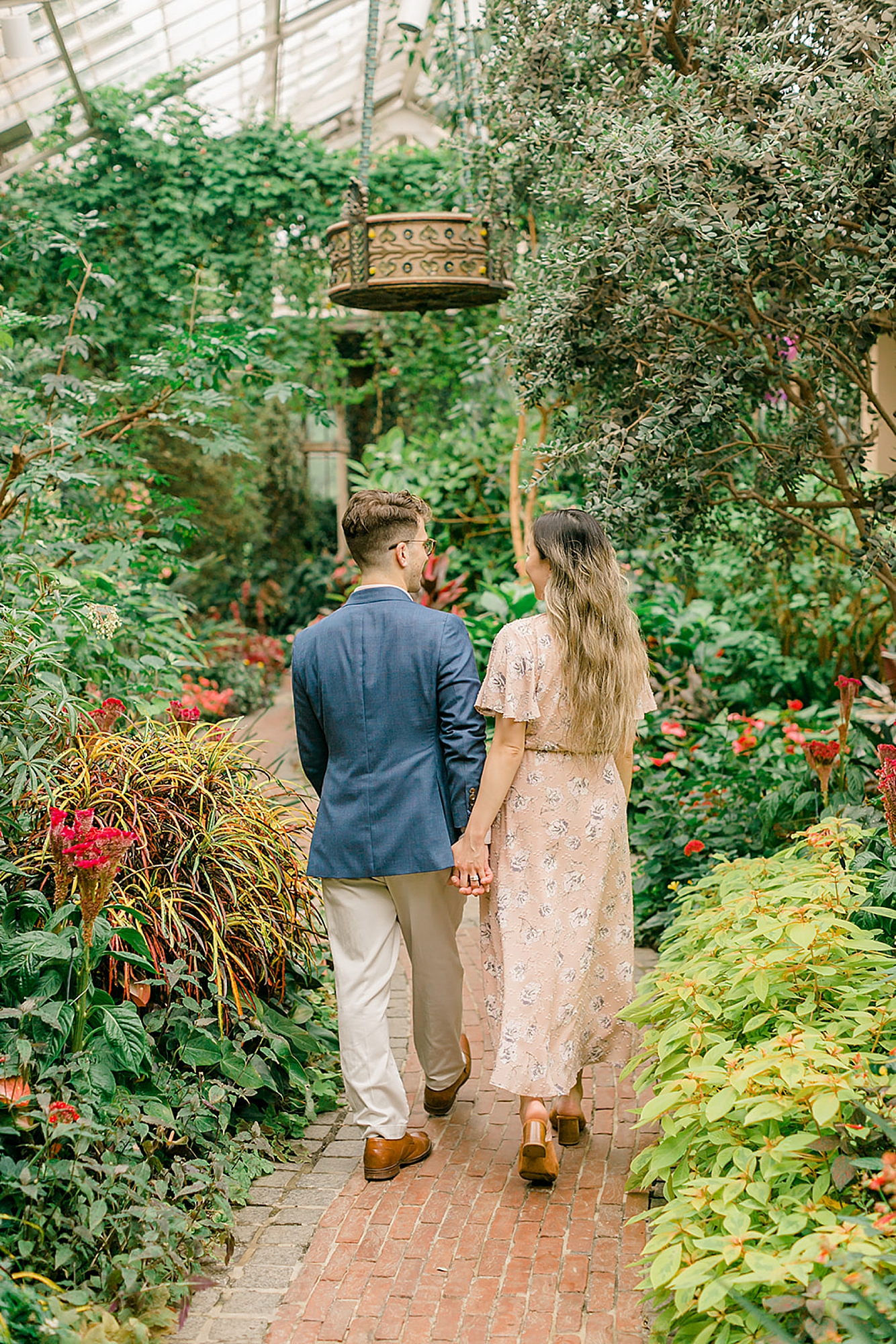 Longwood Gardens Surprise Proposal Engagement Photography by Magdalena Studios 0026