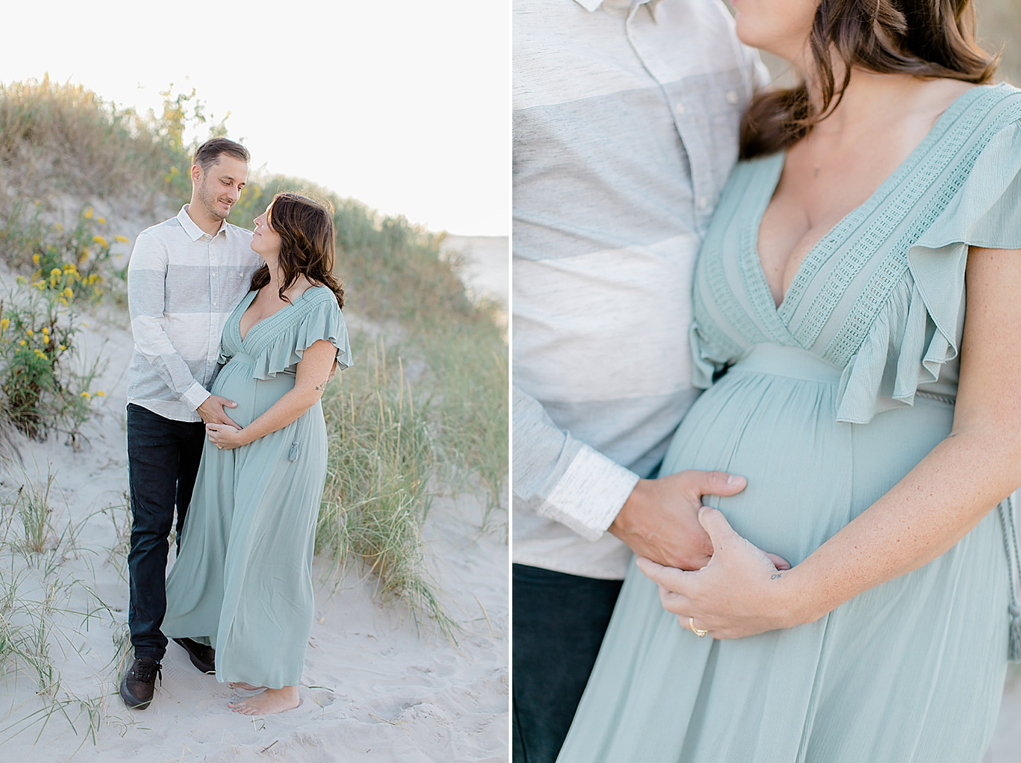 Ocean City NJ Maternity Portrait Photography by Magdalena Studios 0002