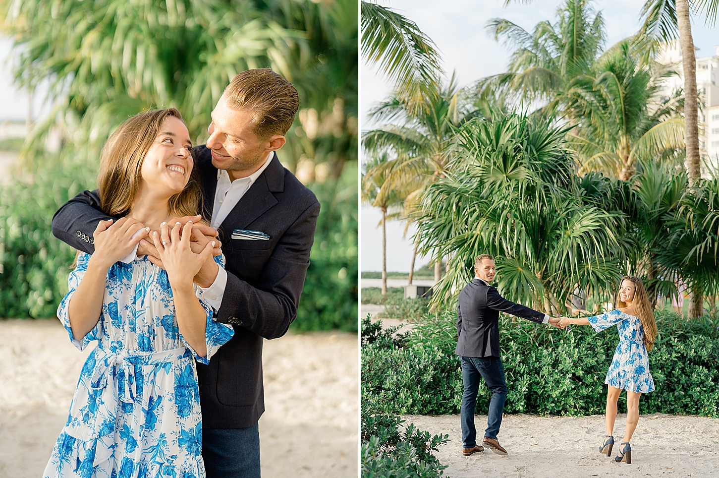 Palm Beach Florida Engagement Photography by Magdalena Studios Lyn and Paul 0005