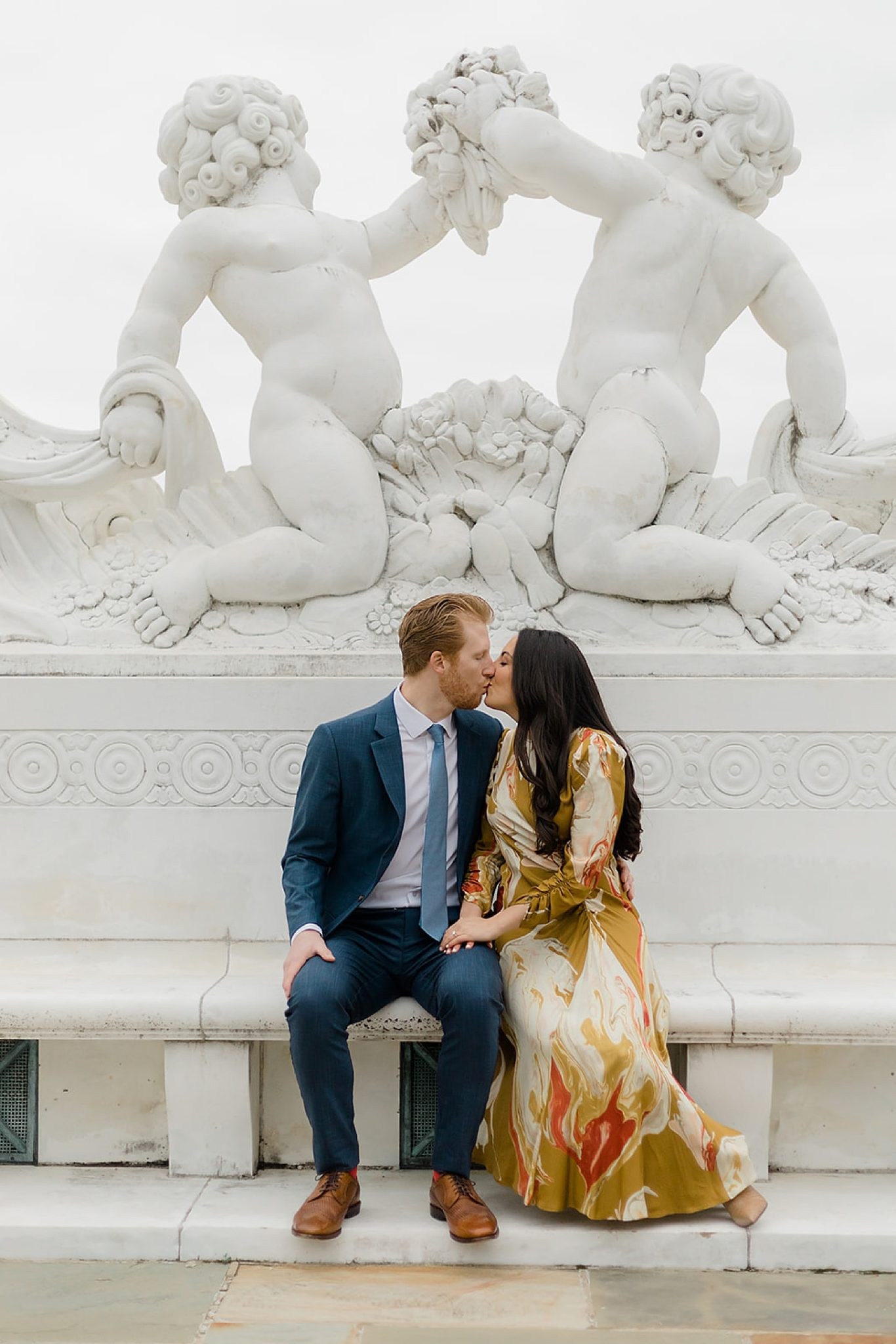 Alfred I. DuPont Hospital for Children Mansion Grounds Engagement Photography by Magdalena Studios 0013 scaled
