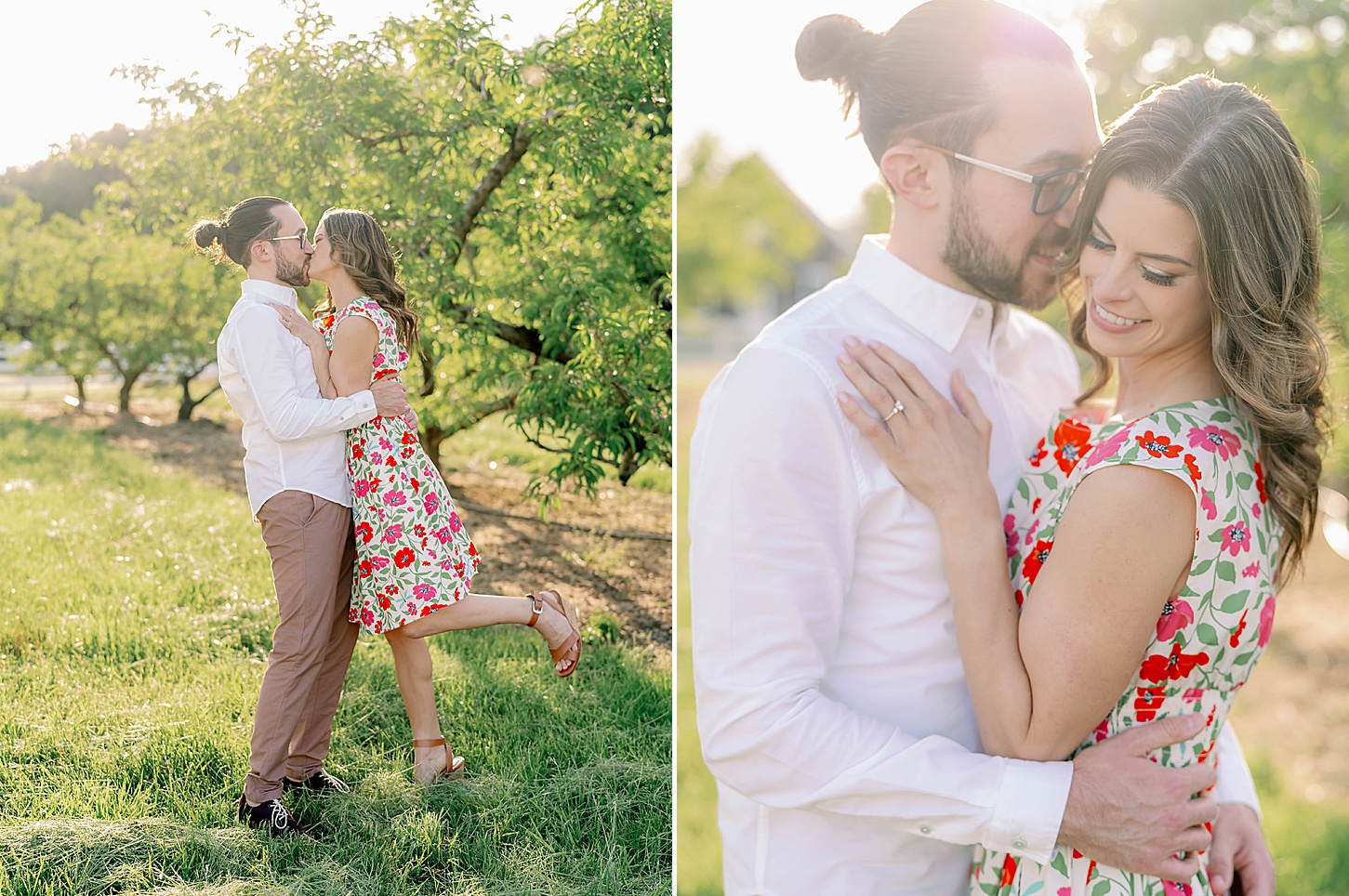 Bast Brothers Garden Center Mullica Hill NJ Engagement Photography by Magdalena Studios 0014