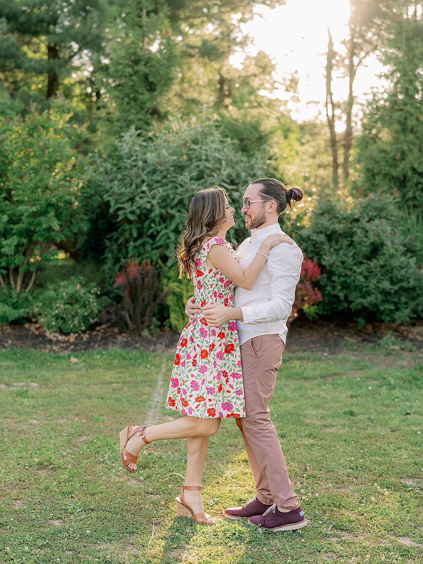 Bast Brothers Garden Center Mullica Hill NJ Engagement Photography by Magdalena Studios 0015