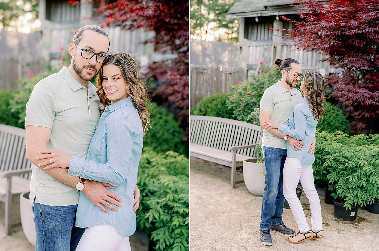 Bast Brothers Garden Center Mullica Hill NJ Engagement Photography by Magdalena Studios 0019