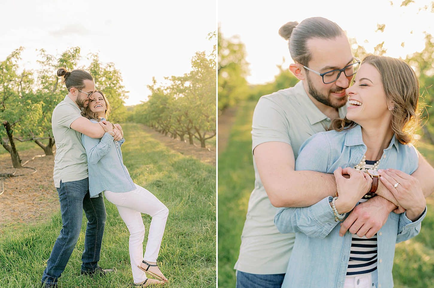 Bast Brothers Garden Center Mullica Hill NJ Engagement Photography by Magdalena Studios 0021