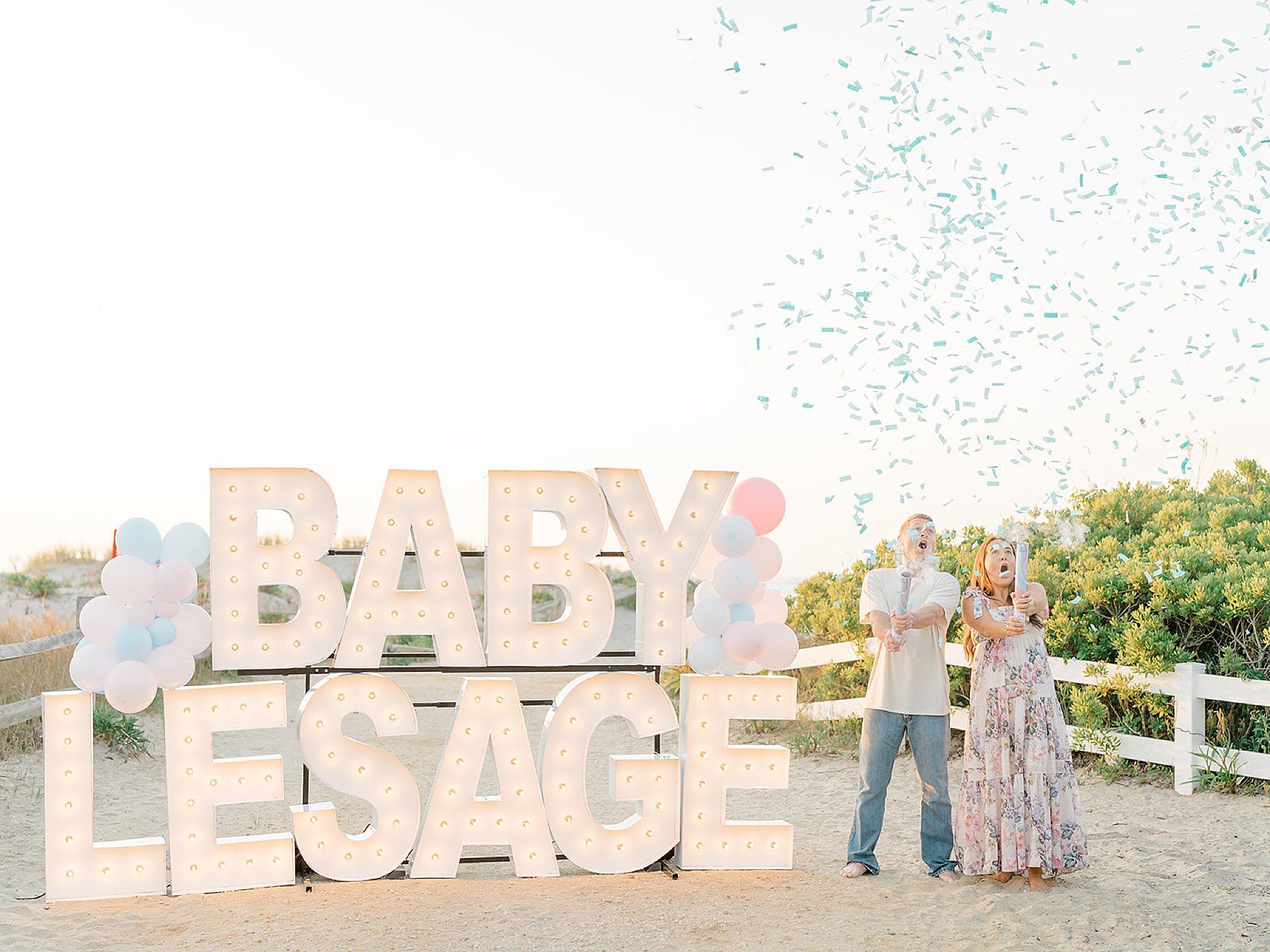 Ocean City NJ Gender Reveal Pregnancy Photography by Magdalena Studios 0006 1