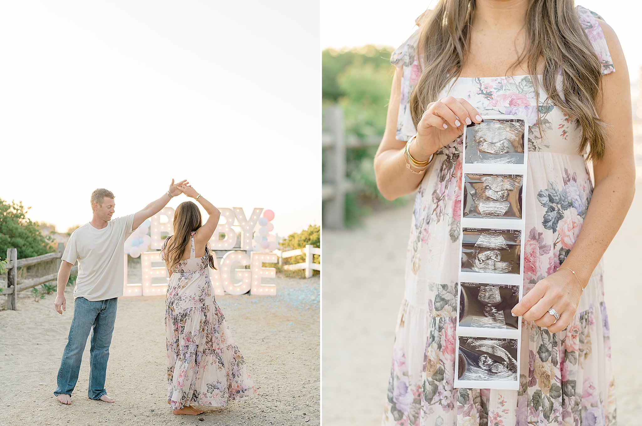 Ocean City NJ Gender Reveal Pregnancy Photography by Magdalena Studios 0013 1