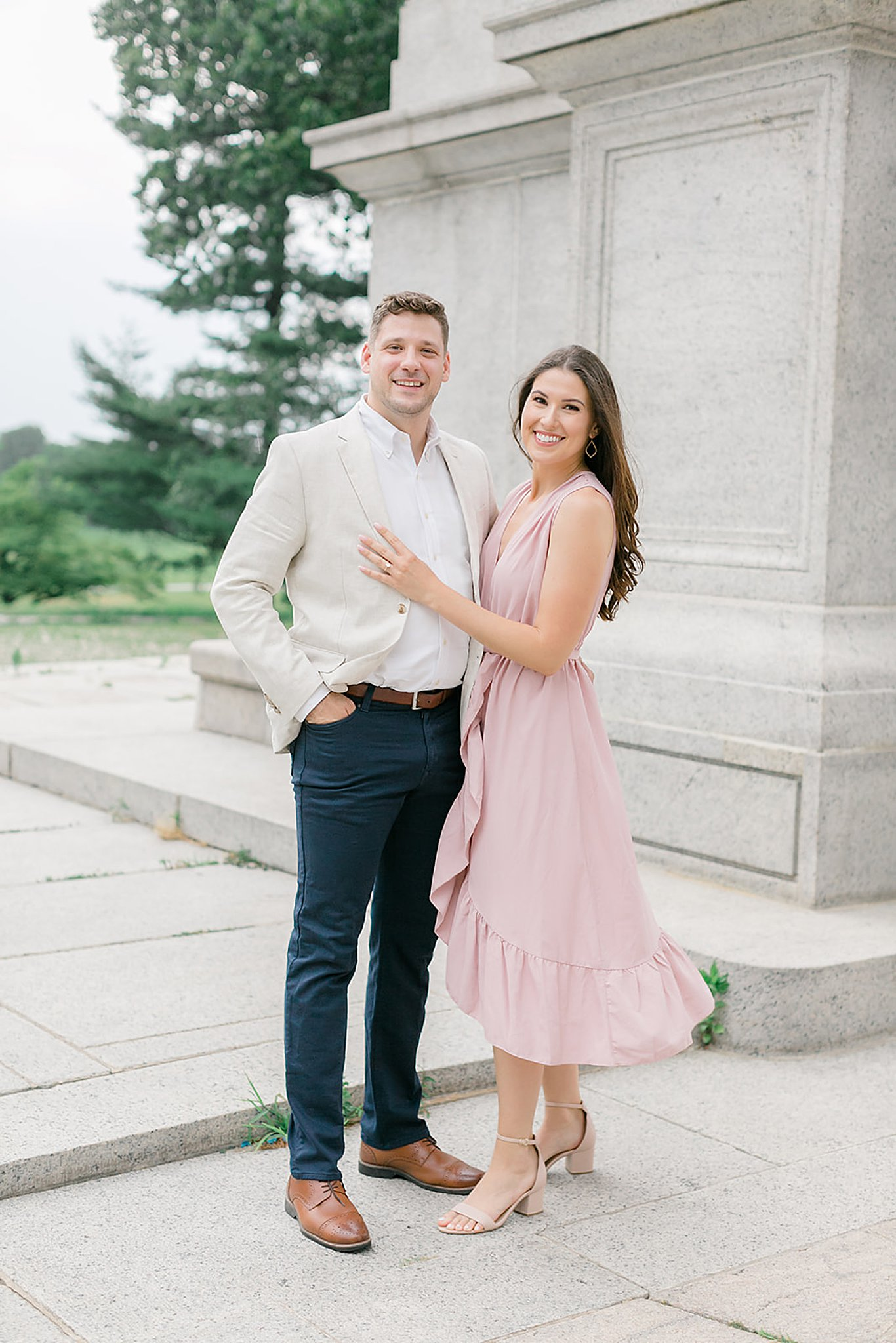 Valley Forge PA Engagement Session Photography by Magdalena Studios ToriMike 0003
