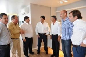 Jorge Macri con intendentes de la Tercera Sección