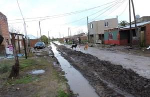 El gobierno de Peluso puso manos a la obra al problema de las lluvias