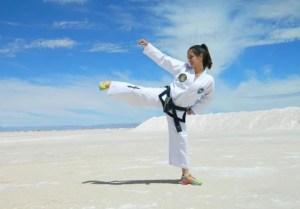 """Guadalupe Zabaleta: """"El taekwondo es parte de mi vida"""""""