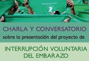 Charla sobre aborto legal en el Instituto 58