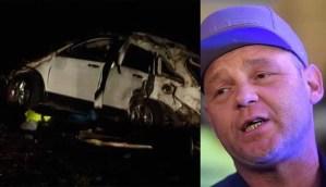 El Pepo herido en accidente de auto donde murieron dos personas