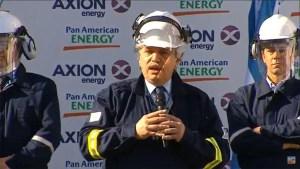 La nueva refinería de Axion incrementará 60% la producción de gasoil y 50% de naftas