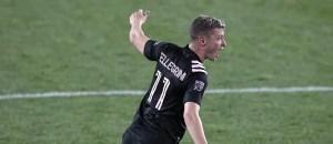 """Matías Pellegrini después de su primer gol en la MLS: """"Espero que este sea el primer escalón"""""""