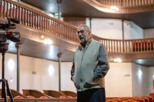 Luis Brandoni visitó Magdalena y se reunió con Peluso en el Teatro Español