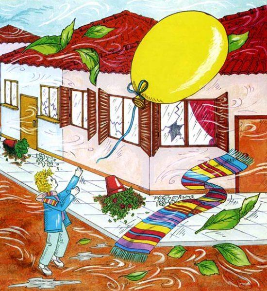 Illustration / Εικονογράφηση Color Ink painting / ζωγραφική με μελάνη