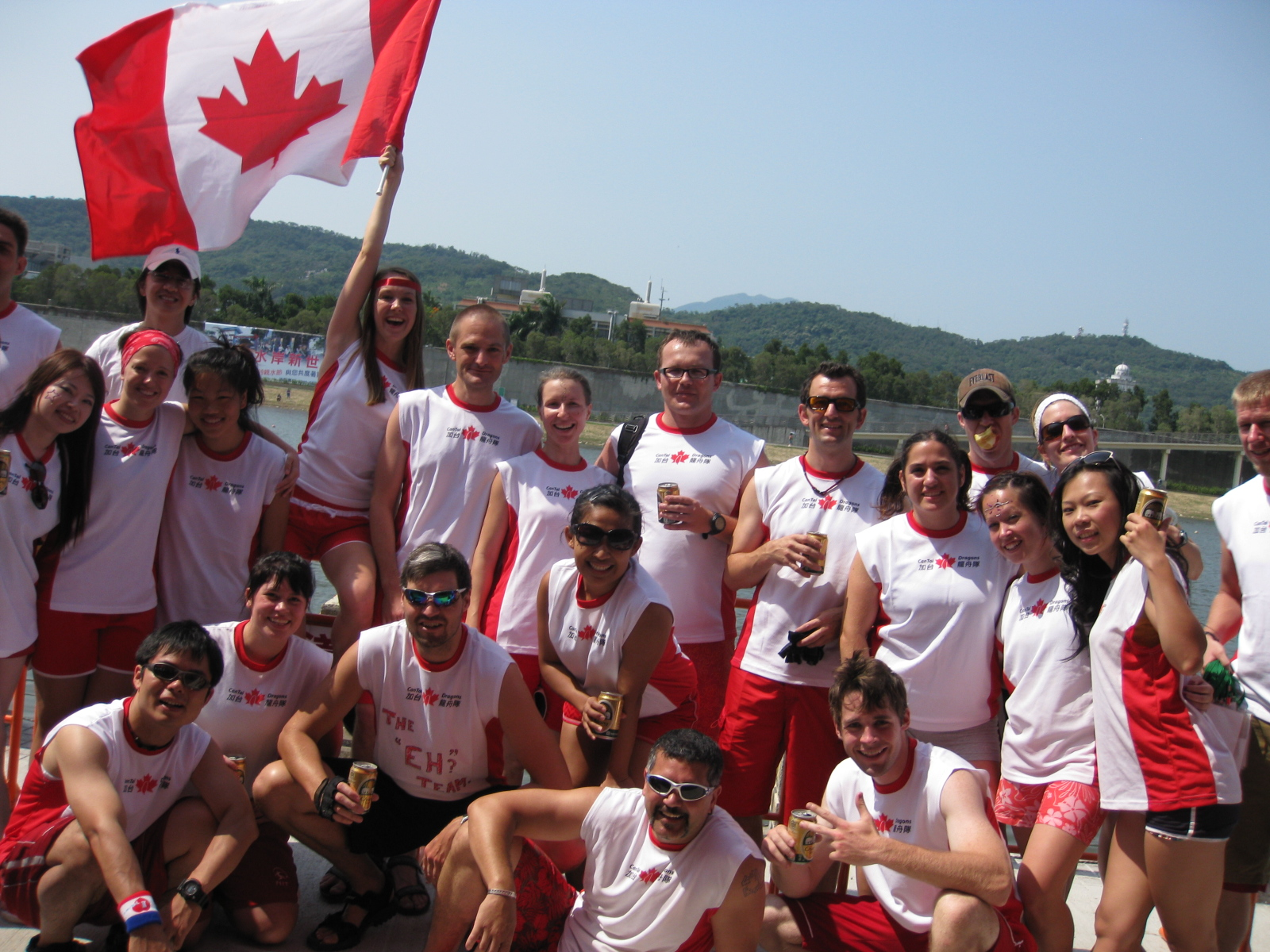 Dragonboating 2009 Friday 016