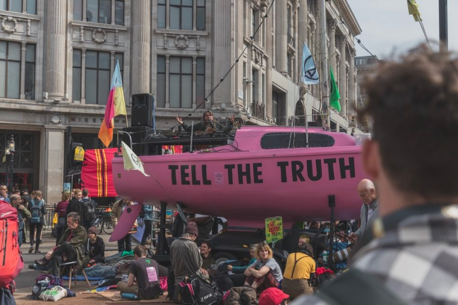 Extinction Rebellion are challenging the status quo and are on the way to form new environmental habits.