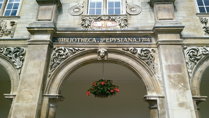 Pepys Library building, photograph by Annie Gleeson