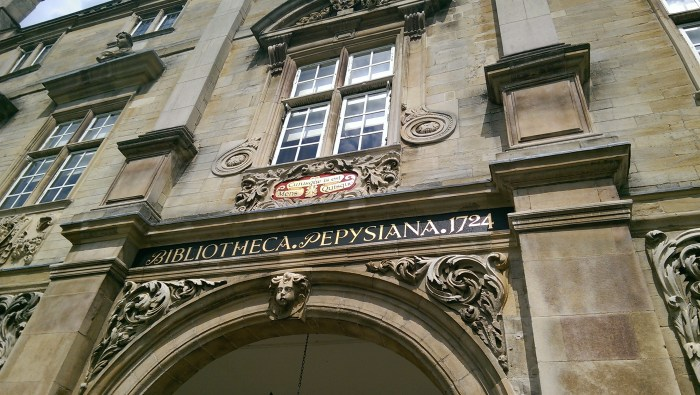 Pepys Building signs redone