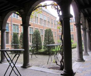 The Courtyard of the Plantin-Moretus Museum.  Photograph by Catherine Sutherland