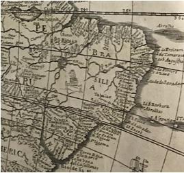 America map detail