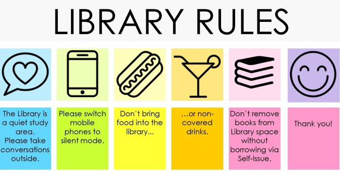 Library rules trimmed 6