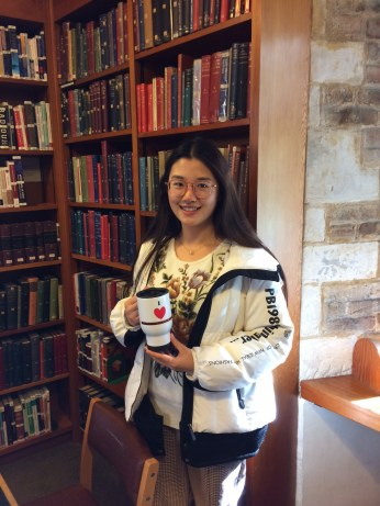 2019 Magdalene Library Survey travel mug prize winner