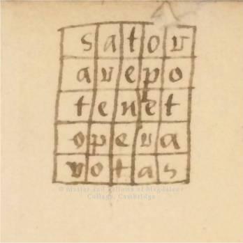 Sator Square (2)