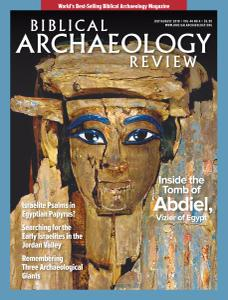 Biblical Archaeology Review – July-August 2018