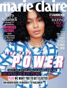 Marie Claire South Africa – July 2018