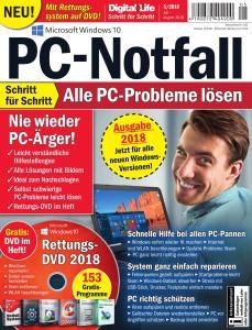 PC-Welt Digital Life Schritt für Schritt Nr. 5 – Juli-August 2018