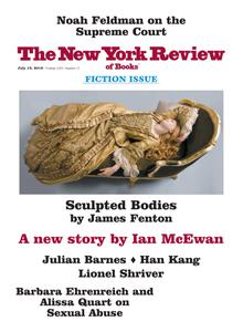 The New York Review of Books – July 19, 2018